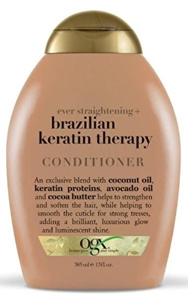 Organix Ogx Brazilian Keratin Therapy Saç Kremi 385 ml Renksiz